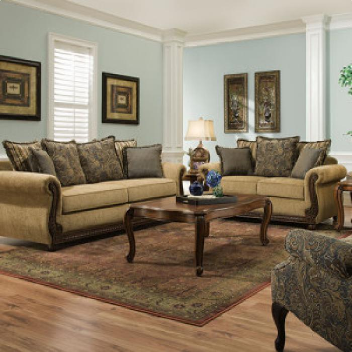 Outback Antique Sofa/Love,Brandywine Showcase