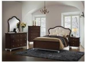 Allison Twin Bed Dresser/Mirror/Chest/Night Stand (LAST ONE) (FLOOR MODEL)