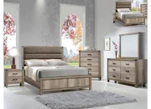 Matteo Twin Bed D/M/C FREE NIGHT STAND