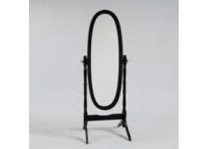 Cheval Mirror Black