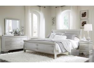 Marley Silver Queen Bed/D/M