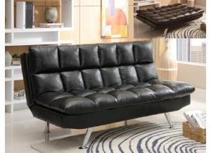 Image for Futon Bicast Black