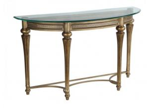 Image for Galloway Wrought Iron Sofa Table