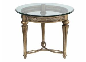 Galloway Wrought Iron End Table
