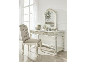 Cassimore Vanity/Mirror/Chair