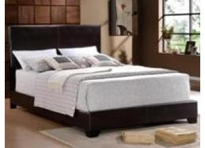 Image for Queen Espresso Bicast Bed