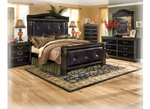 Coal Creek Queen Mansion Bed Dresser/Mirror