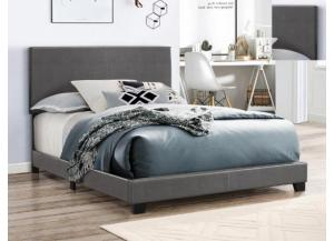 Twin Gray Bicast Bed