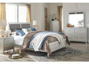 Olivet Queen Bed, Dresser/Mirror