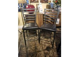 2 Fairmont Fully Welded Counter Height Stools