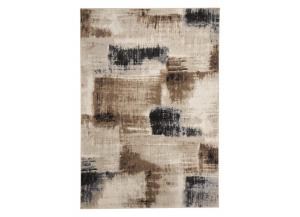 5x7 Calvin Brown Rug