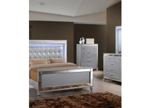 Valentino Queen Bed/Dresser/Mirror
