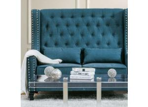 Alicante Dark Teal Bench