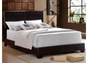 Twin Espresso Bicast Bed