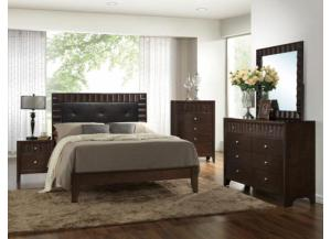 Image for Nadine Queen Bed D/M/C FREE NIGHTSTAND