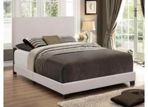 Image for Queen Khaki Bicast Bed