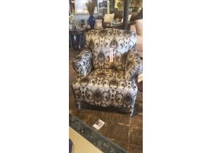 Santa Monica Black Accent Chair