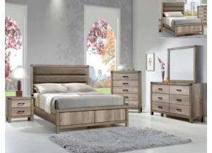 Matteo Full Bed D/M/C FREE NIGHT STAND