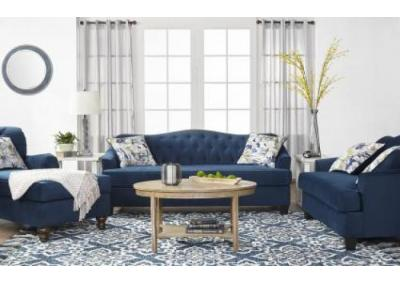 Image for Bing Indigo Sofa/Love