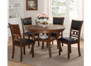 5 Pack Dinette Brown
