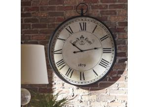 Augustina Clock Antique Black