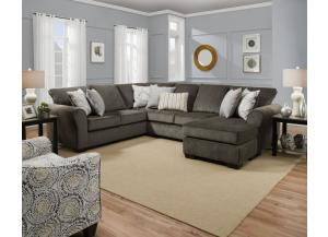 Harlo Ash/Mosaic Antique/3 Piece Sectional