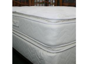 2 SIDE BARCROFT FULL MATTRESS AND BASE