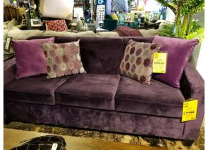 2 Pc Sofa/Love  Liberty Aubergine/Liberty Dahlia