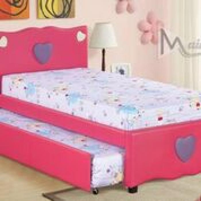 99345 Cutey Twin Bed With Trundle,Mainline