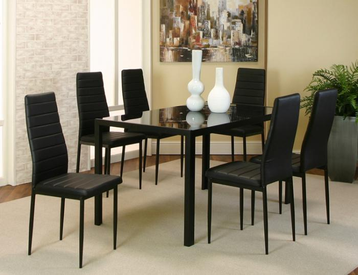 ML714 Terni Dining Table with 6 Chairs,Cramco Dining
