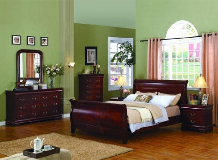 Louis Phillipe King Size Bed ,Lifestyle