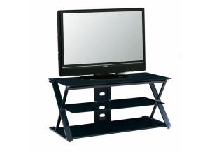 2767 Black Metal LCD TV Stand
