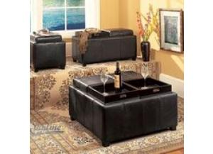 6005, Cubbies Storage Ottoman