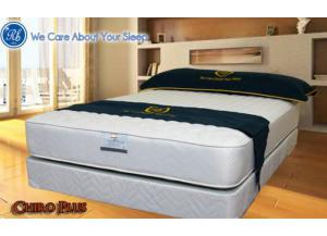 Image for 222 Chiro Firm Plus Queen Size Mattress Set