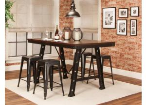 W3087-529 Dax Pub Set with Adjustable Stools