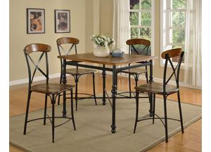 DC222 Cosmo Pub Table with 4 Chairs