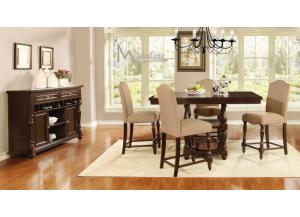 24310 Epoque 5 Piece Counter Height Dining Set
