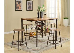 DC252 Paris Pub Set with 4 Stools