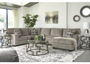 Ballinasloe Platinum RAF Chaise Sectional