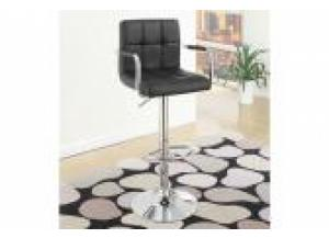 F1557 Black Bar Stool (1)