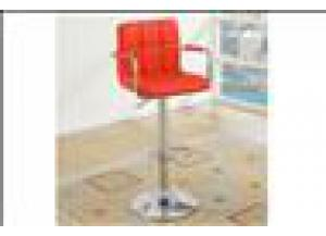 F1558 Red Bar Stool (1)