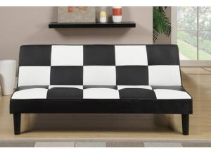 F7002 Black and White Sofa Bed