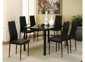 ML714 Terni Dining Table with 6 Chairs
