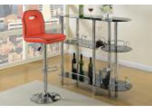 F1624 Red Bar Stool (1)
