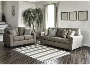 9120238/35 Calicho Cashmere Sofa & Loveseat
