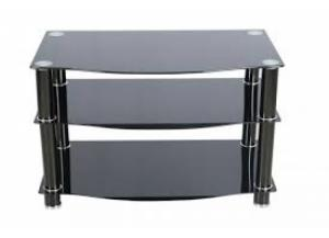 H1755 Smoked Glass TV Stand