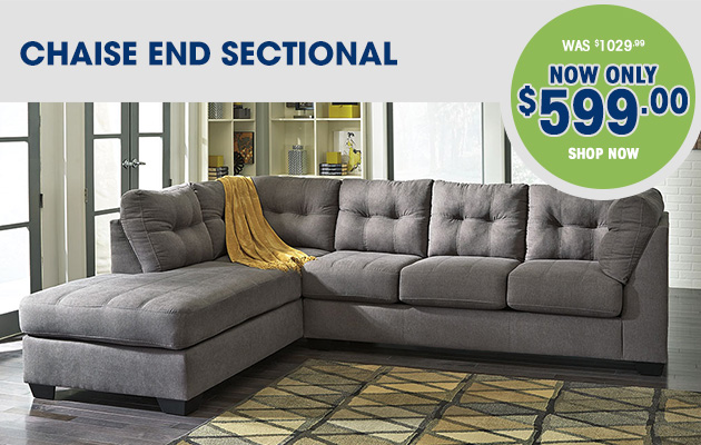 Chaise End Sectional