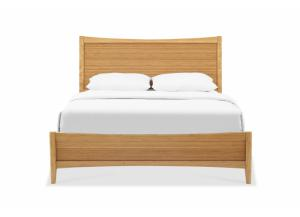 Willow Queen Bed, Caramelized