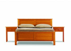 Hosta California King Platform Bed, Caramelized
