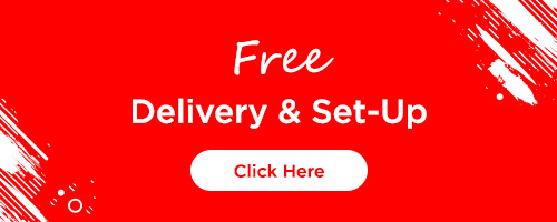 Free Delivery and Setup